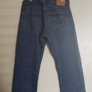Mens Levi's 501 Jeans